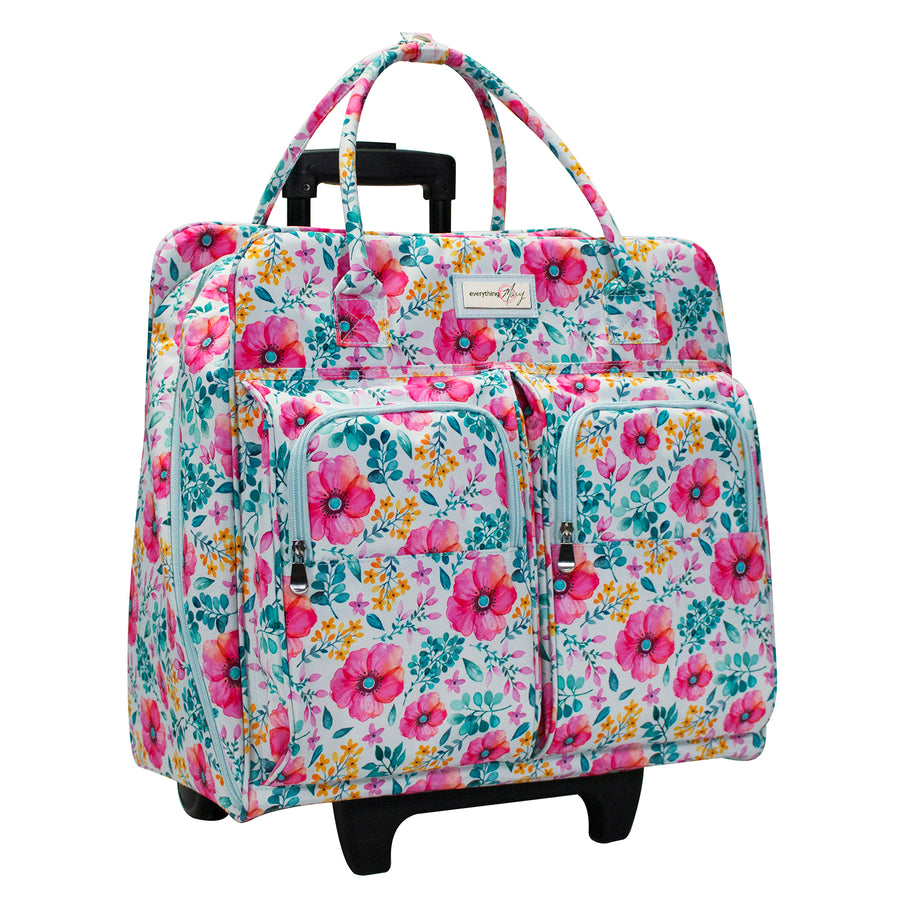 Deluxe Rolling Sewing Case, Slim 2019 Spring Floral