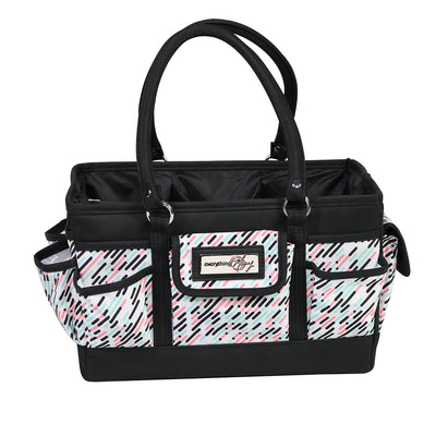 Collapsible Deluxe Store & Tote Craft Organizer, Pill Print