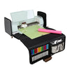 Die Cut Carrying Case for Cricut Explore & ScanNCut DX, Black & White Stripes