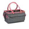 Collapsible Deluxe Store & Tote Craft Organizer, Coral Heather