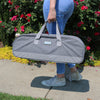 Everything Mary Rolling Craft Tote for Cricut, Brother, Silhouette Machines, Grey Heather