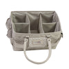 Collapsible Deluxe Store & Tote Craft Organizer, Tan Dot