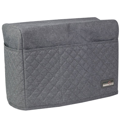 Deluxe Sewing Machine Dust Cover, Heather Grey