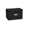 Everything Mary Collapsible Sewing Kit Organizer Box, Black Heather