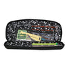 Everything Mary Knitting & Crochet Needle Storage Case, Black Heather