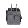 Everything Mary Collapsible Desktop Craft Caddy, Grey Heather