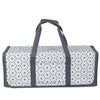 Die Cut Carrying Carrying Case for Cricut Explore & ScanNCut DX, Grey Geometric