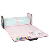 Die Cut Carrying Carrying Case for Cricut Explore & ScanNCut DX, Floral Print