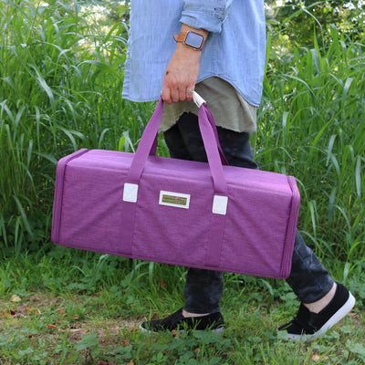 Die Cut Carrying Carrying Case for Cricut Explore & ScanNCut DX, Heather Plum
