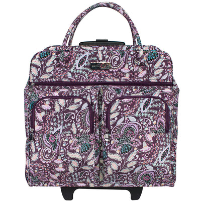 Deluxe Rolling Sewing Case, Floral Design by Dena Fishbein