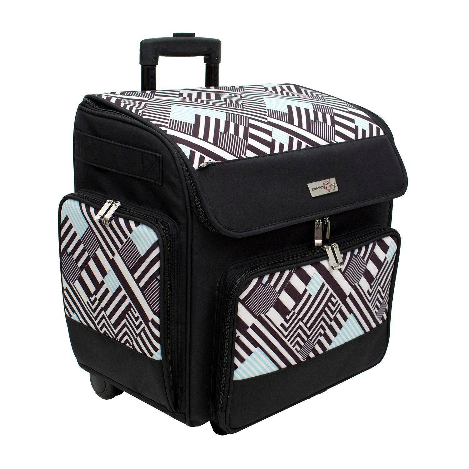 Deluxe Scrapbook Rolling Travel Case - Everything Mary a63bf22db1