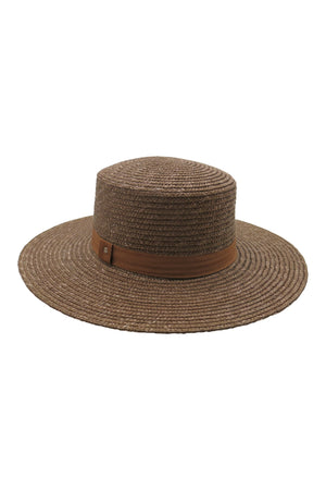 Ace of Something - Vicenza Boater Hat