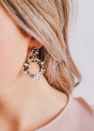 Zafino - Alice Amber Earrings