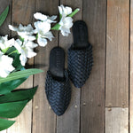 Shoe Shu - Leather woven toe loafer