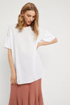 Primness - Textured Top - White