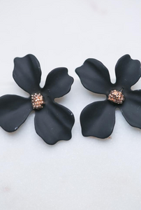 Zafino - Small Orchid Earrings
