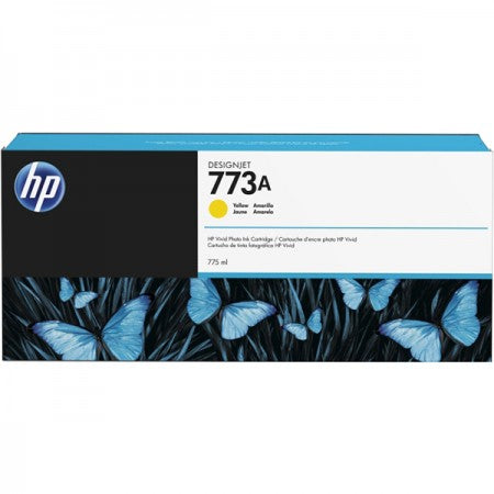 HP 773A (C1Q24A) Yellow Designjet Ink Cartridge (775 ml)