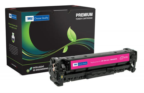 MSE Remanufactured Extended Yield Magenta Toner Cartridge for HP CE413A (HP 305A)
