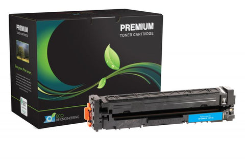 MSE Compatible High Yield Cyan Toner Cartridge for HP CF401X (HP 201X)