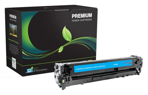MSE Cyan Toner Cartridge for HP CE321A (HP 128A)