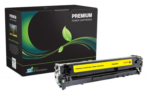 MSE Yellow Toner Cartridge for HP CE322A (HP 128A)