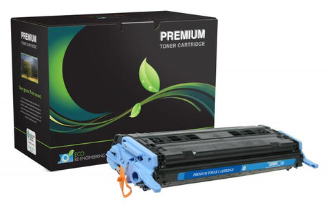 MSE Cyan Toner Cartridge for HP Q6001A (HP 124A)