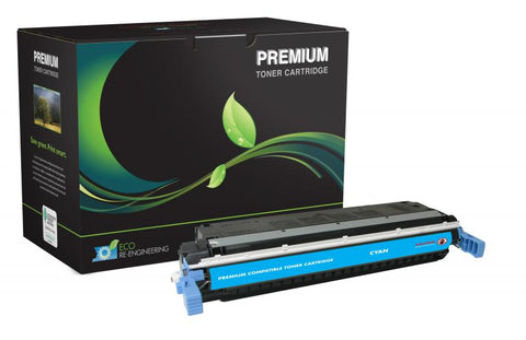MSE Compatible Cyan Toner Cartridge for HP C9731A (HP 645A)
