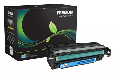 MSE Cyan Toner Cartridge for HP CE251A (HP 504A)