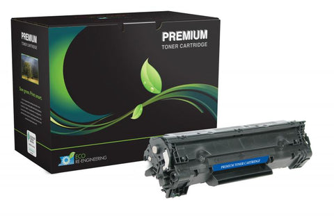 MSE Compatible Extended Yield Toner Cartridge for HP CB436A (HP 36A)