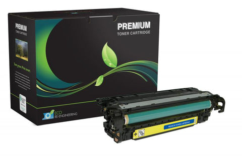 MSE Compatible Yellow Toner Cartridge for HP CE402A (HP 507A)