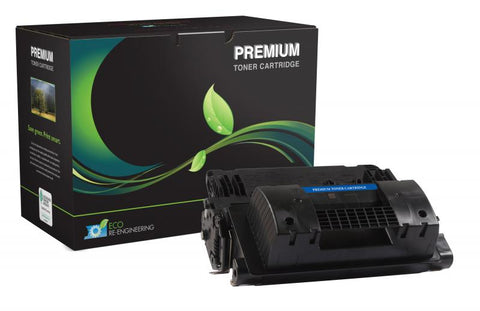 MSE Remanufactured Extended Yield Toner Cartridge for LJ M605 M606 M630 (Alternative for HP CF281X 81X) (40000 Yield)