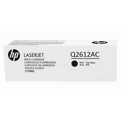 HP HP 12A (Q2612AC) Black Original LaserJet Toner Cartridge (2000 Yield)
