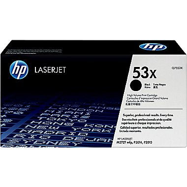 HP HP 53X (Q7553X) Black Original LaserJet Toner Cartridge (7000 Yield)