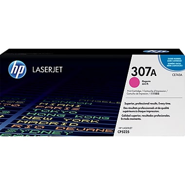 HP 307A (CE743A) Color LaserJet CP5225 Magenta Original LaserJet Toner Cartridge (7300 Yield)