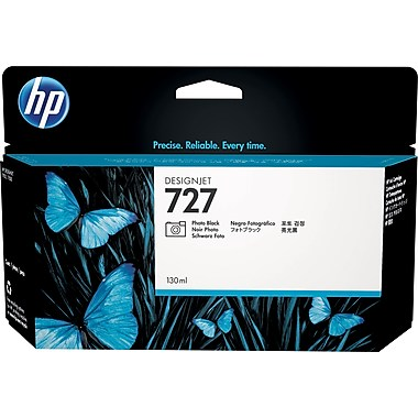 HP 727 130-ML Photo Black DesignJet