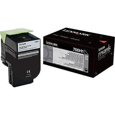 Lexmark (700H1) CS310 CS410 High Yield Black Toner Cartridge (4000 Yield)