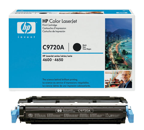HP HP 641A (C9720A) Black Original LaserJet Toner Cartridge (9000 Yield)
