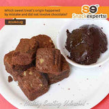 healthy brownie made with jaggery, wheat flour and walnuts online. Healthy snacks online delivery