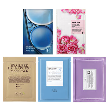 """Forever Young"" Anti-Ageing Sheet Mask Bundle - kosamebeauty"