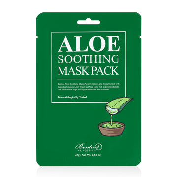 Benton Aloe Soothing Mask Pack 23g - Kosame Beauty