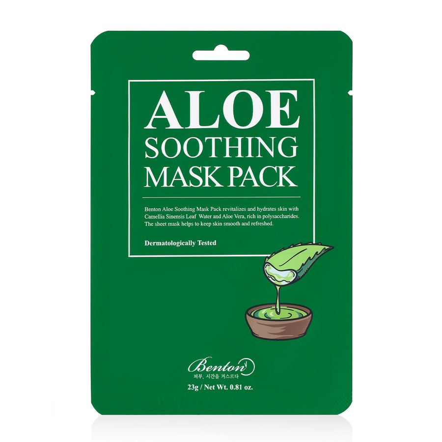 Benton Aloe Soothing Mask Pack 23g - kosamebeauty