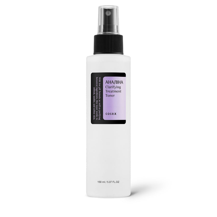 COSRX AHA BHA Clarifying Treatment Toner 150ml - kosamebeauty