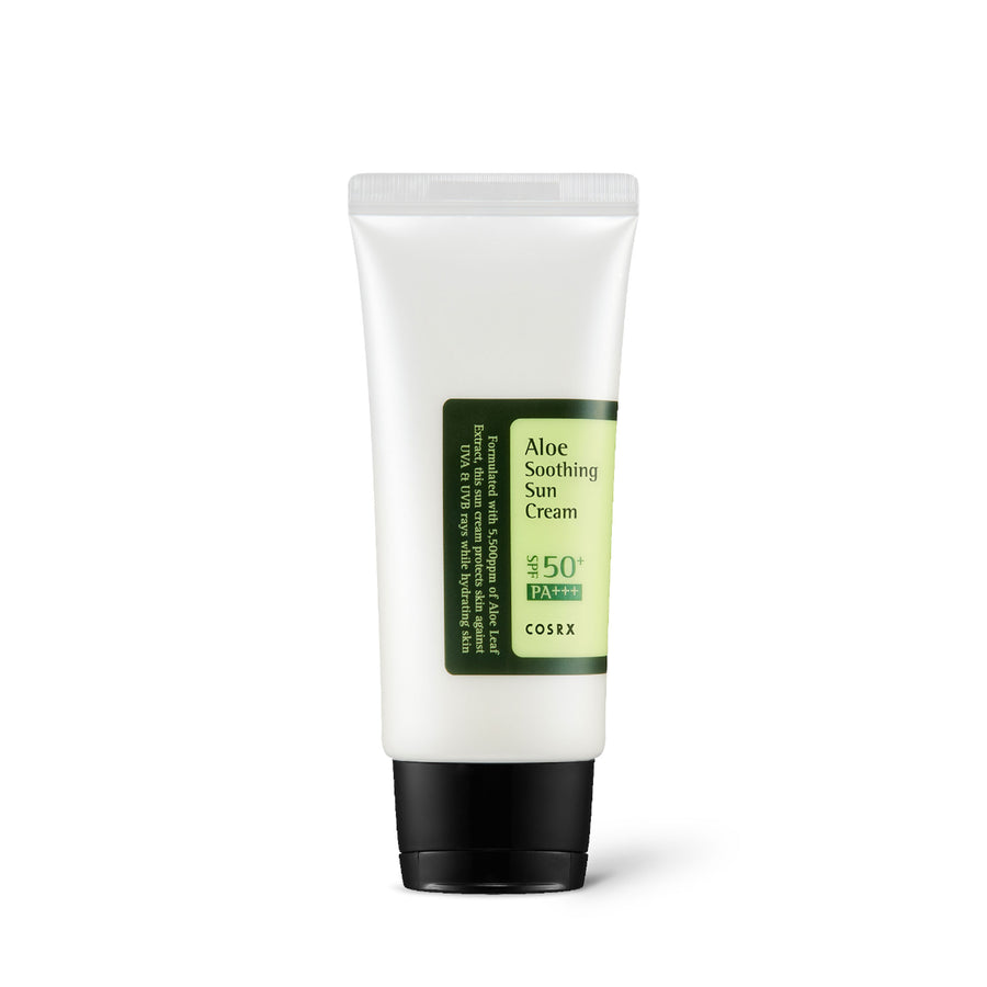 Cosrx Aloe Soothing Sun Cream SPF50 PA+++ 50ml - kosamebeauty