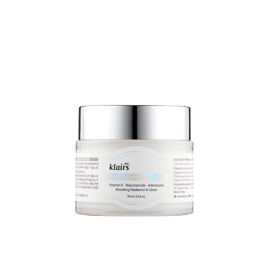 Klairs Freshly Juiced Vitamin E Mask 90ml - kosamebeauty