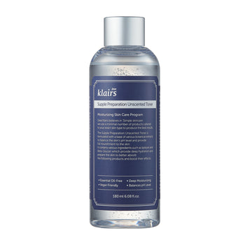 Klairs Supple Preparation Unscented Facial Toner 180ml - Kosame Beauty