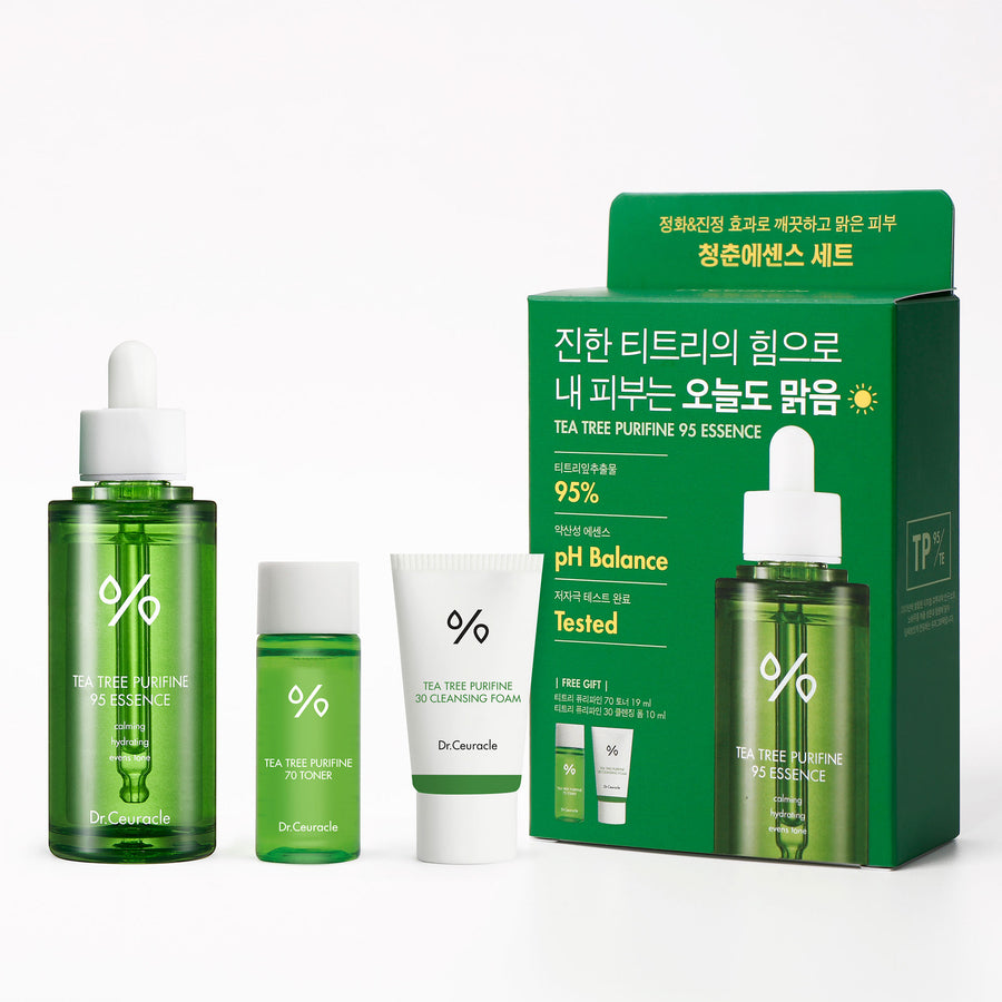 Dr. Ceuracle Tea Tree Purifine Set - kosamebeauty