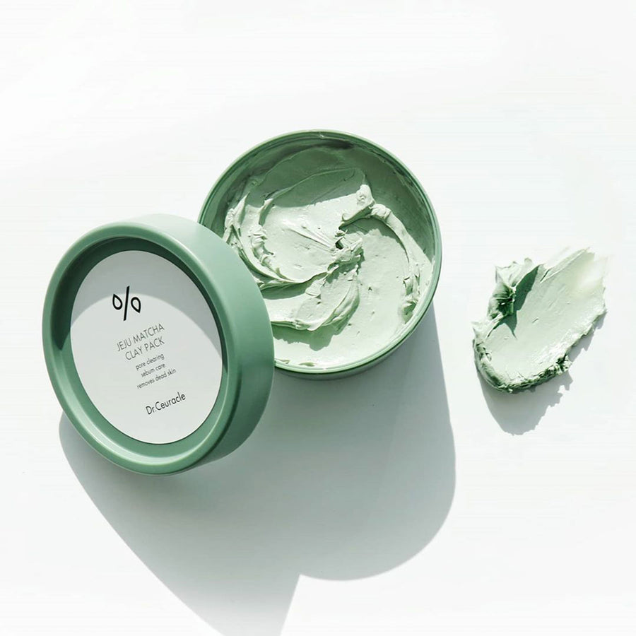 Dr. Ceuracle Jeju Matcha Clay Pack 115g - kosamebeauty
