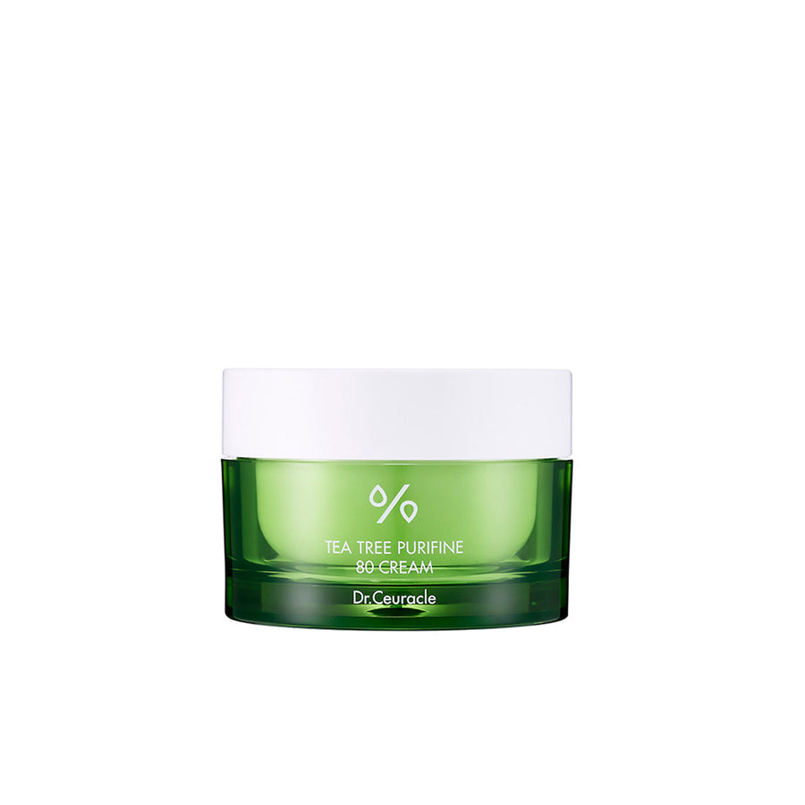 Dr. Ceuracle Tea Tree Purifine 80 Cream 50ml - Kosame Beauty