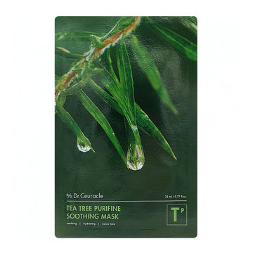 Dr. Ceuracle Tea Tree Purifine Soothing Mask - Kosame Beauty