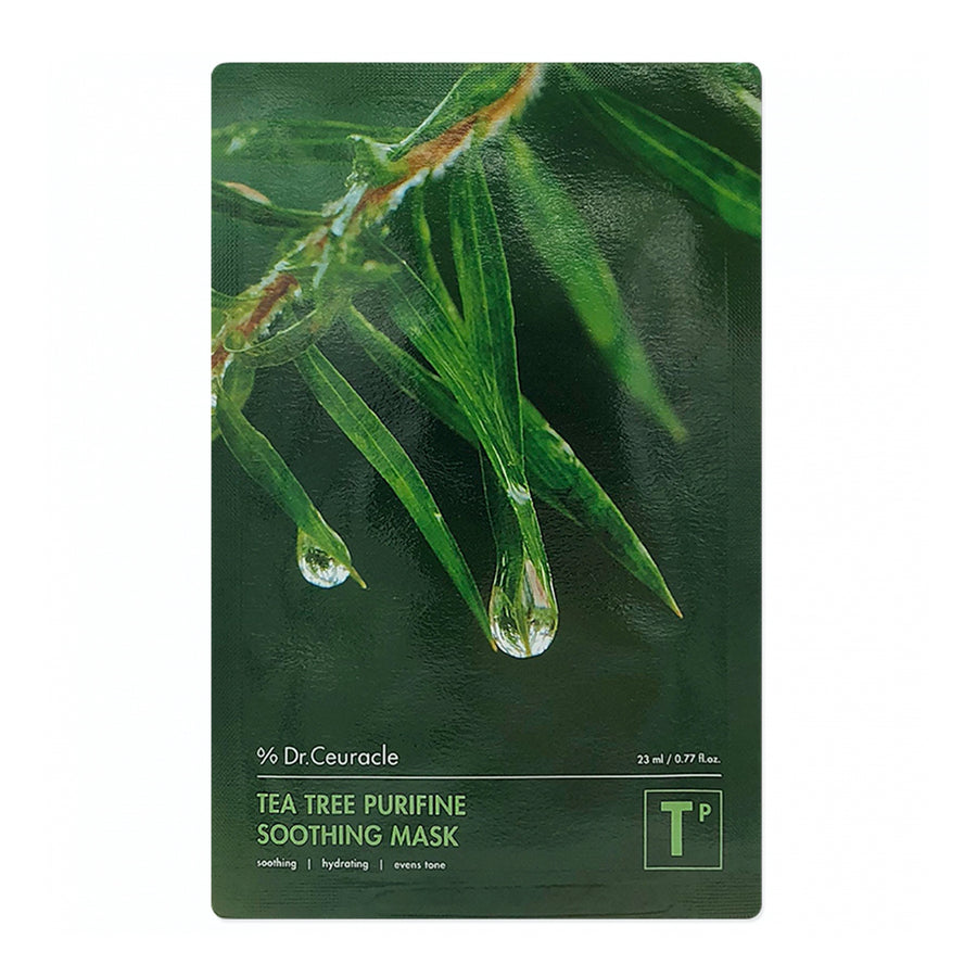 Dr. Ceuracle Tea Tree Purifine Soothing Mask 30ml - kosamebeauty